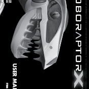 Roboraptor X User Manual Image