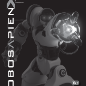 Robosapien X User Manual Image